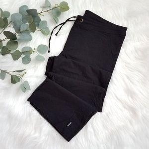 PRANA Black Medium Stretchy Drawstring Pants M